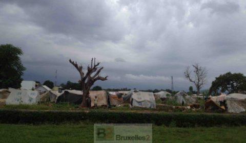 Le camp de MPoko près de laéroport, octobre 2014 (© NGV / B2)