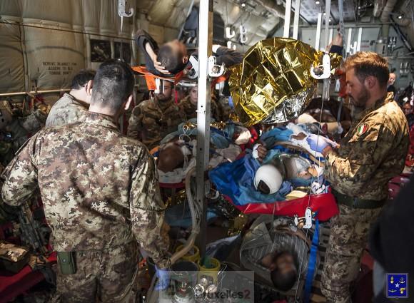 Une intervention humanitaire italienne en Libye très politique