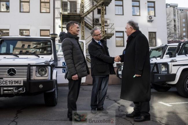L'Europe donne 20 véhicules de plus à l'OSCE