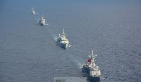 SNMG2 had extensive training with Turkish Navy