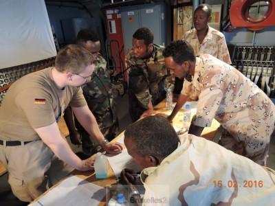 Formation à Berbera pour la garde côtière somalienne