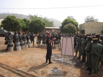 EUCAP Sahel Mali forme la Garde nationale pour le maintien de l'ordre