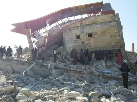 Un hôpital en Syrie… Boum boum… plus d'hôpital. Un vrai nettoyage du territoire