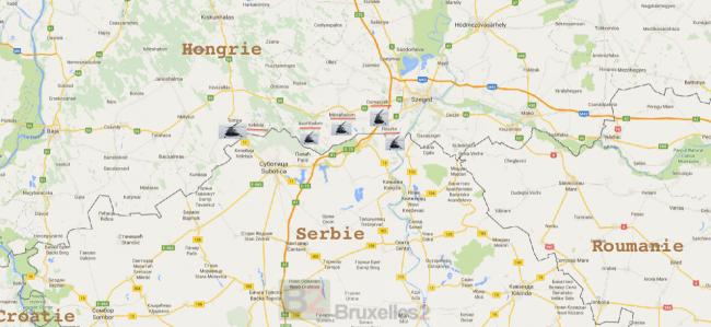 L'armée hongroise mobilise ses hélicos pour surveiller la frontière avec la Serbie