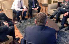 Charles Michel et François Hollande suivent larrestation de Molenbeek
