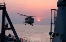 Lhélicoptère de bord Wildcat alias AW159 SuperLynx (crédit : MOD uk)