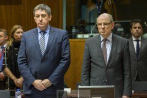 Les ministres belges Jan Jambon (Intérieur)