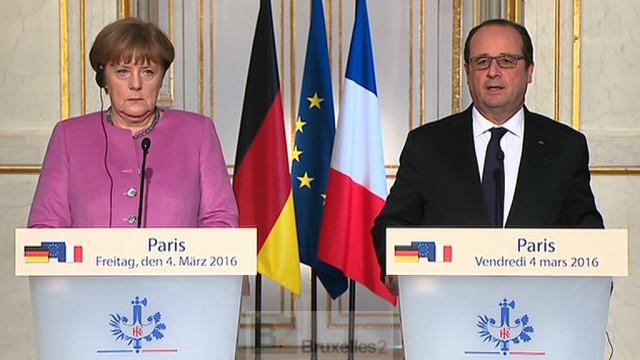 Le couple franco-allemand bat de l'aile. La preuve par les textes et les photos