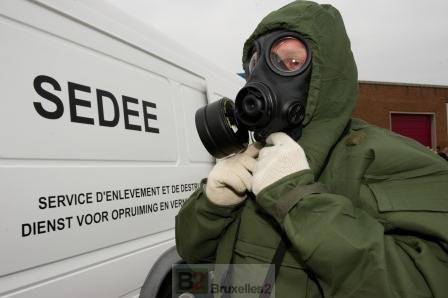 Mobilisation de la défense belge après les attentats