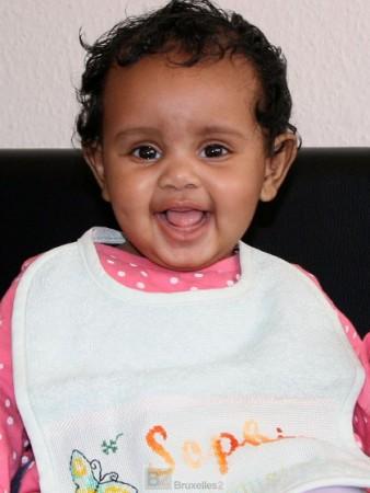 La petite Sophia (Crédit : Rheinische Post)