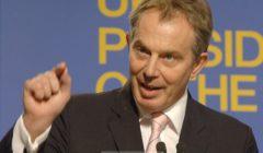 Tony Blair lors de la présidence britannique de lUE - ici à Hampton court (crédit : Commission européenne, archives B2)