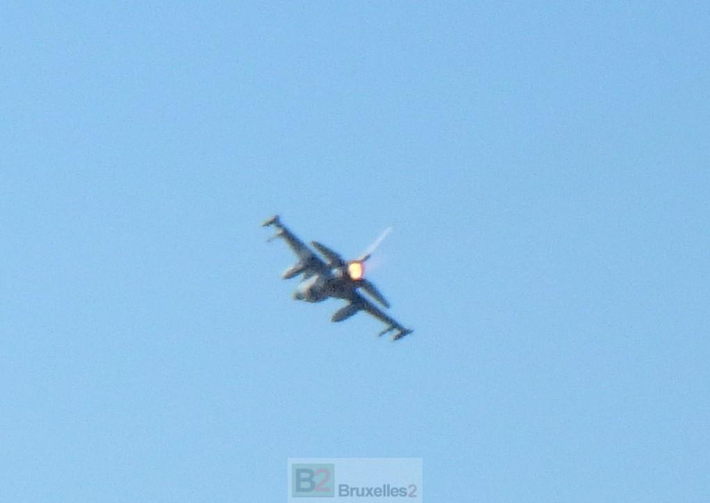 A Amari, les F-16 veillent au grain… russe