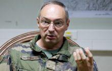 Le gŽnŽral de brigade Hautecloque est le commandant de la Task Force La Fayette ˆ Warehouse Kaboul.