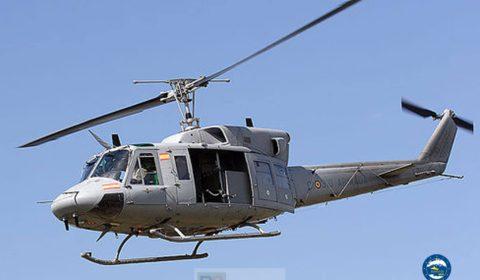 hélicoptère AB212 (crédit : Eunavfor Med)