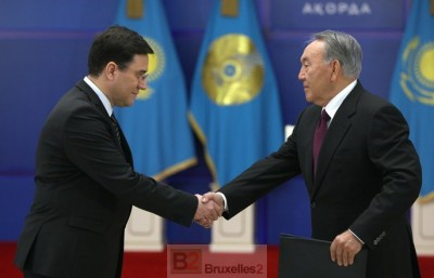Les drôles de pratiques d'un Etat d'Asie centrale à Bruxelles
