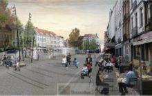 la place Jourdan dans le futur (crédit : Etterbeek)