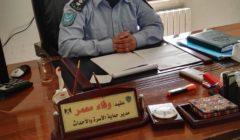 Wafa Muamar, colonel de police, chef de lunité de protection familiale