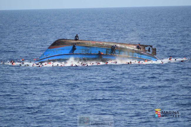 Sauvetage in extremis au large de la Libye