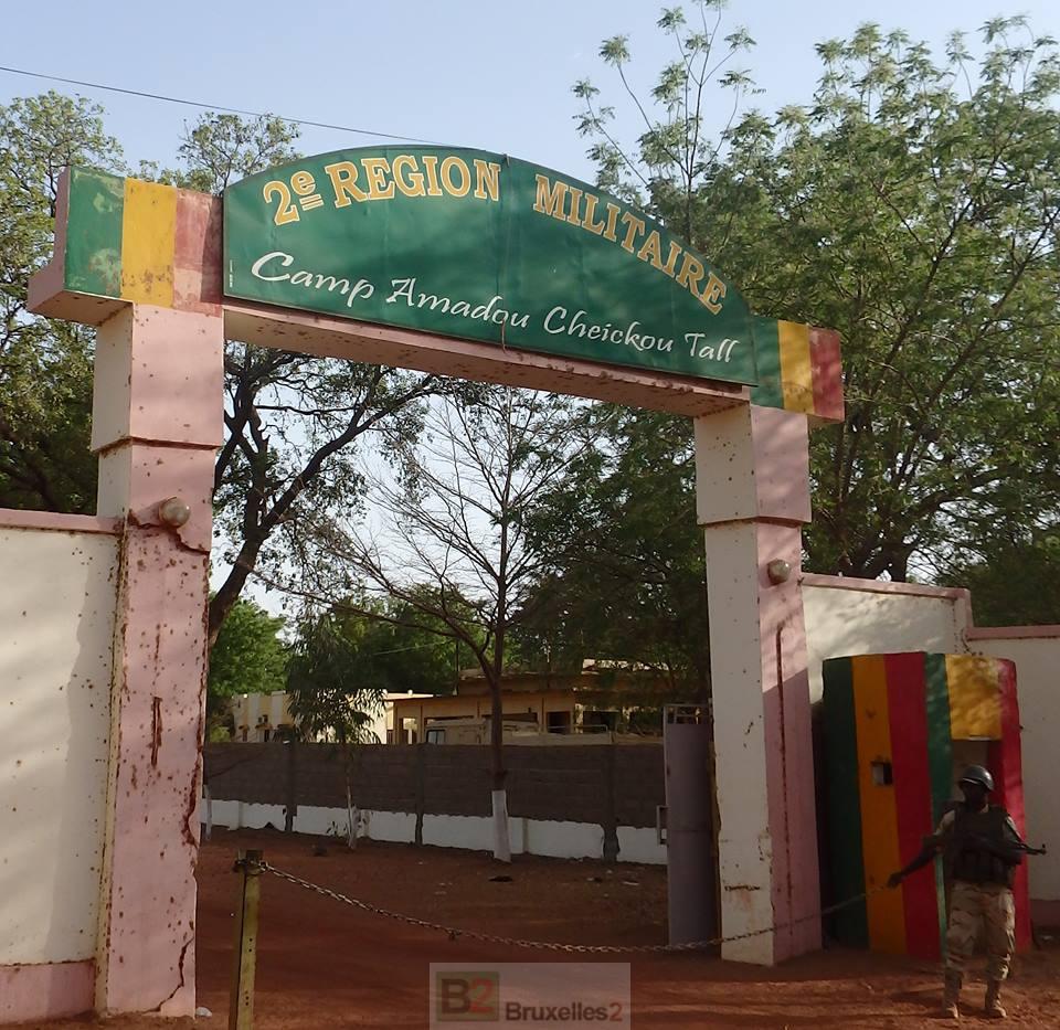 Entrée du camp de Ségou (Crédit : EUTM Mali)