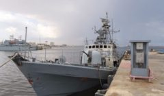 marine libyenne en octobre 2011 (crédit : OTAN)