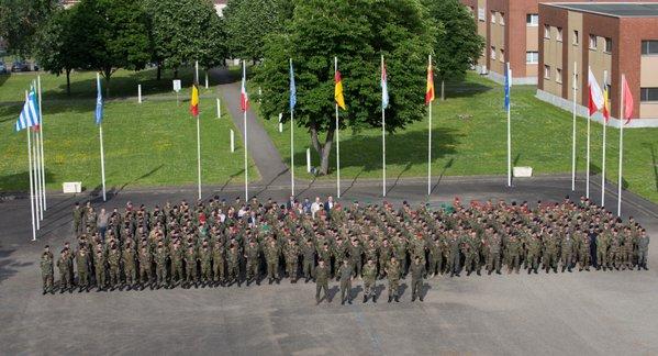Force de réaction rapide de l'UE. L'Eurocorps d'astreinte à partir du 1er juillet