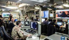 Le navire-amiral abrite le quartier général de lopération Sophia (crédit : EUNAVFOR Med)