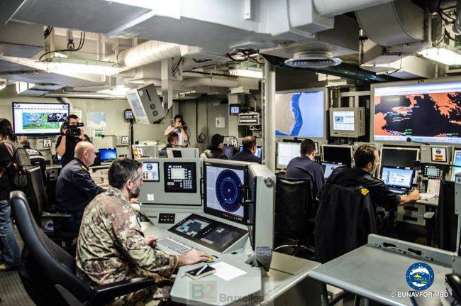 L'opération Sophia (EUNAVFOR Med) change de navire amiral