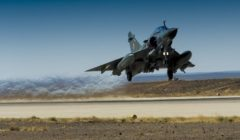Décollage dun Mirage 2000 (crédit : DICOD / EMA - archives)