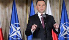 Duda au forum des experts (crédit : présidence polonaise)