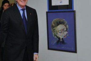 David Mandelson a torpillé la candidature de Ashton de Haut représentant, selon les Américains - visite de Peter Mandelson à la Commission européenne le 6 novembre 2009 (crédit : CE / archives B2)