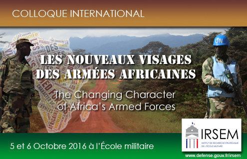 Les armées d'Afrique subsaharienne (colloque)