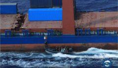 les équipes dabordage du HMS Diamond en mission de contrôle (crédit : EUNAVFOR Med)