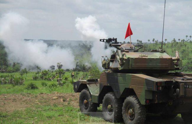 exercice de tir en Côte d'Ivoire (crédit : EMA / DICOD / Archives B2)