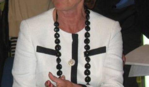 Neelie Kroes au soir du référendum négatif aux Pays-Bas, lambiance nétait pas folichonne... (© NGV)