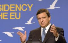José-Manuel Barroso au sommet de Hampton Court en 2005. Il était plus jeune... (Crédit : Conseil de lUE)