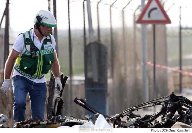 Crash d'un avion opérant pour la défense française à Malte. 5 Français tués (V4)