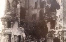 immeuble détruit à Budapest 1956 (archives personnelles © B2 / NGV)