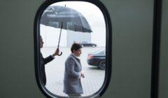 Beata a intérêt à sortir son parapluie ! (crédit : PM Pologne)
