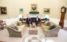 La première rencontre entre Obama et le nouvel élu Donald Trump a été plus consensuelle que prévue (crédit : US White House)