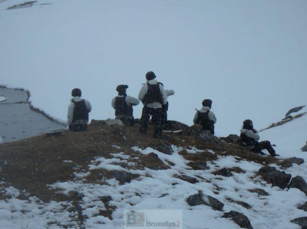 Les troupes de montagne en entraînement au Mont Thabor