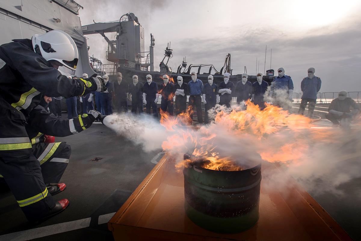 Fin de la première phase de formation des garde-côtes libyens