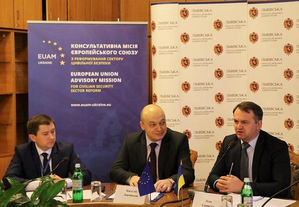 EUAM Ukraine réformera 20 postes de police en 2017