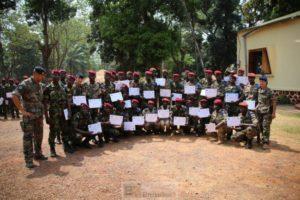 Première compagnie formée au camp Kassaï