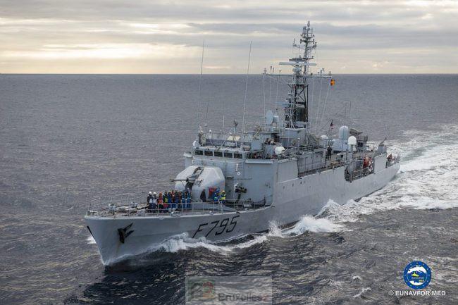 Le FS Ducuing rejoint l'opération maritime européenne en Méditerranée