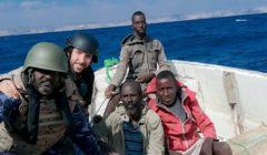 Eunavfor Atalanta explique son travail aux pêcheurs somaliens