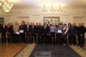 La formation des futurs chefs de la police ukrainienne
