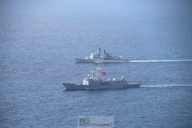 Les navires de Sea Guardian font-ils des ronds dans l'eau ?