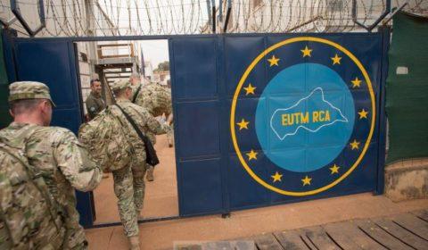 Les Géorgiens assurent la force de protection d'EUTM RCA