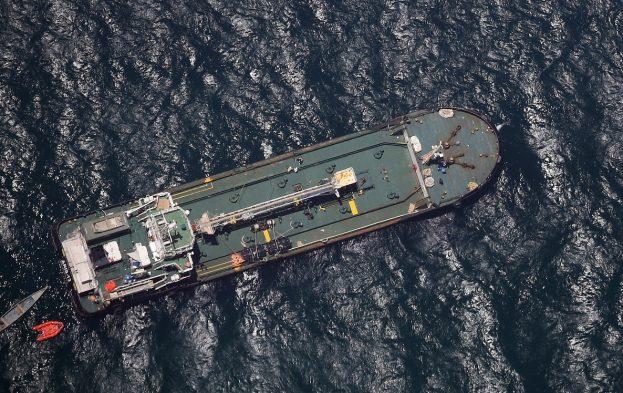 Le navire Aris 13 libéré