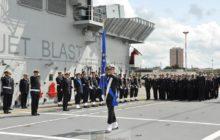 Relais italien à la tête de la force maritime EUNAVFOR Med
